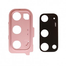 Galaxy S20 / S20 5G Back Camera Lens with Bezel - Cloud Pink
